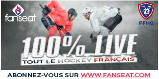 RDV sur Fanseat pour suivre les matches du hockey sur glace français !